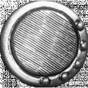 Button Template- Set V#01- Vintage Button #03