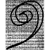 Doodle Swirl Template 05