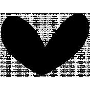 Heart Shape 06 Template