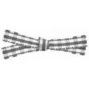 Knotted Gingham Ribbon Template