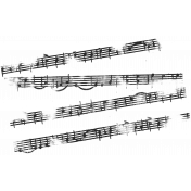 Musical Stamp Template