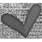 Paper Heart Template #02