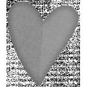 Paper Heart Template #07