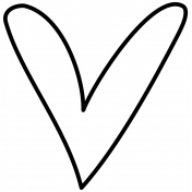 Doodle Hearts Template 01