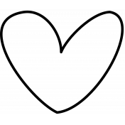 Doodle Hearts Template 02