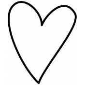 Doodle Hearts Template 03