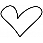 Doodle Hearts Template 05