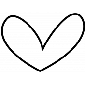 Doodle Hearts Template 06