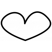 Doodle Hearts Template 09