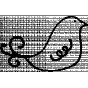 Doodle Birdie 02 Template
