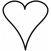 Doodle Heart 11 Template