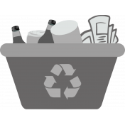 Earth Day- Recycle Bin Template