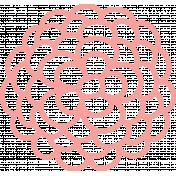 Florals Set #01- Flower Template 03 Outline
