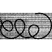 String Doodles Set #01- String 01 Template