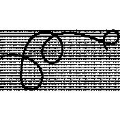String Doodles Set #01- String 02 Template
