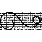 String Doodles Set #01- String 06 Template