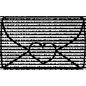 Envelope Doodle Template