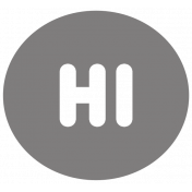Hi Circle Shape Template