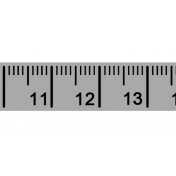 Measure Tape Trim Template
