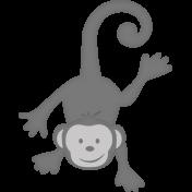 Hanging Monkey Template