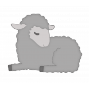 Sweet Little Lamb Template