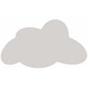 Cloud Shape Template
