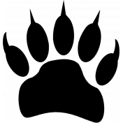 Brushes/PNG's- Bear Tracks