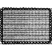 Spookalicious- Doodle Frame Illustration
