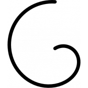 Spookalicious- Flourish Doodle Swirl 04