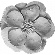 Spookalicious- Element Templates- Large Flower 01