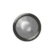 Brad Set #2- Small Circle- Burnished Metal