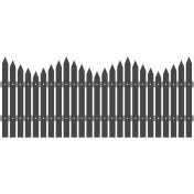 Picket Fence Template