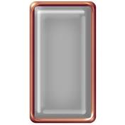 Brad Set #2- Rectangle- Copper