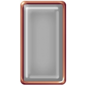 Brad Set #2- Rectangle- Copper