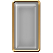 Brad Set #2- Rectangle- Gold