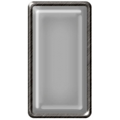 Brad Set #2- Rectangle- Pewter