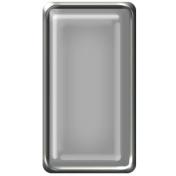 Brad Set #2- Rectangle- Silver