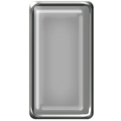 Brad Set #2- Rectangle- Silver