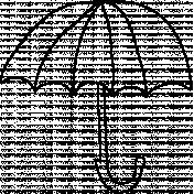 Umbrella Doodle 04