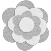 Felt Flower Template - Set 10b