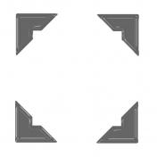 Corner Template 02- Plastic