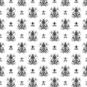 Damask 23- Paper Template