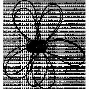 Flower Doodle #2e