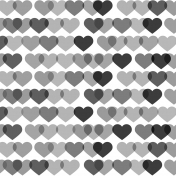 Paper 019- Template- Hearts