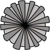 Paper Flower 27- Template