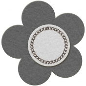 Flower Set 01c- Felt