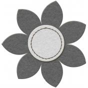Flower Set 01d- Felt