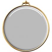 Circle Brad 11- Gold