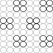 Circles 21- Paper Template- Large