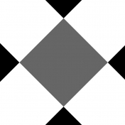 Gingham Paper Template- 6 Inch Squares, Diagonal
